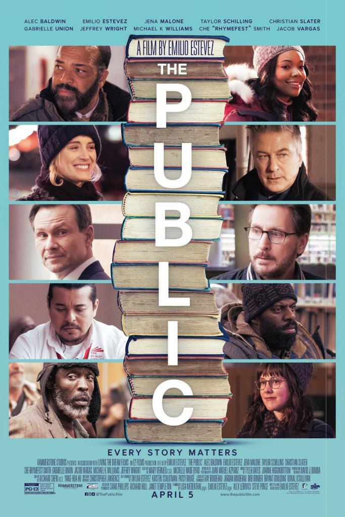 The Public (2018) HD 1080p Latino