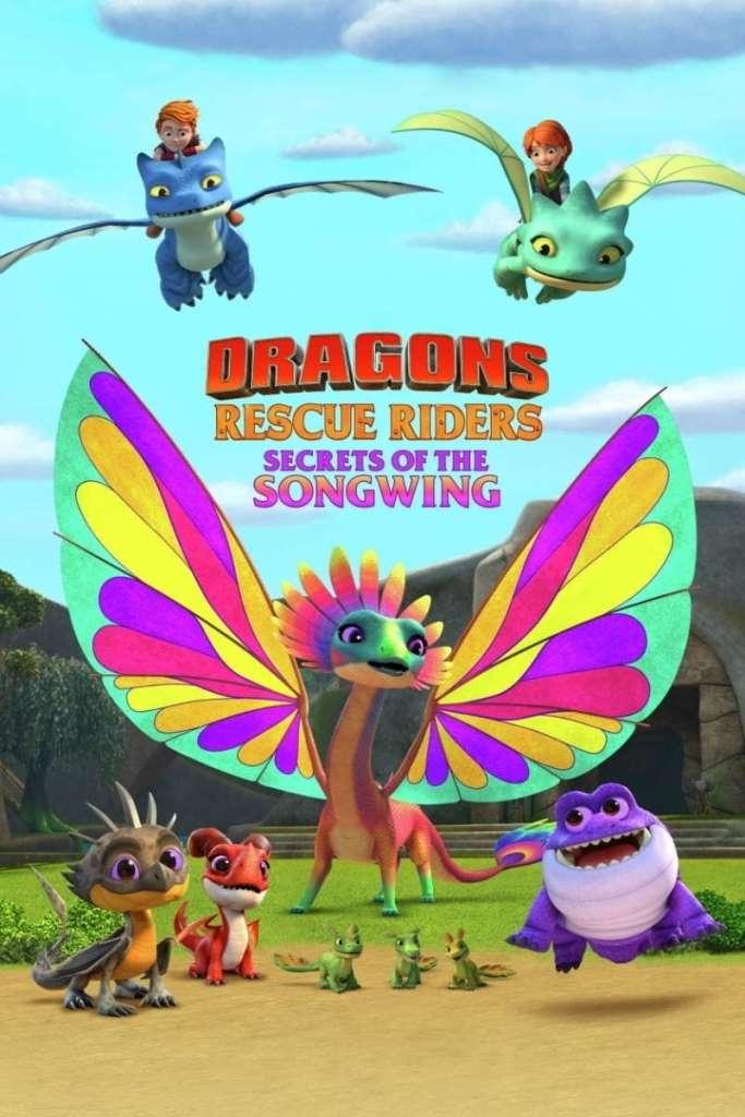 Dragones al rescate: El secreto del Ala Cantarina (2020) HD 1080p Latino