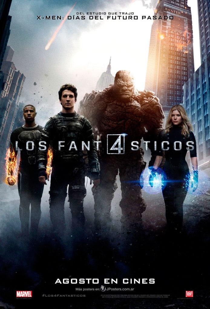 Los 4 fantásticos (2015) HD 1080p Latino