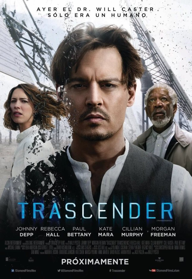Trascender: Identidad virtual (2014) HD 1080p Latino
