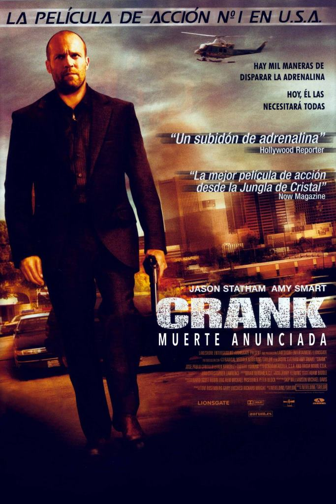 Crank: Muerte anunciada (2006) HD 1080p Latino