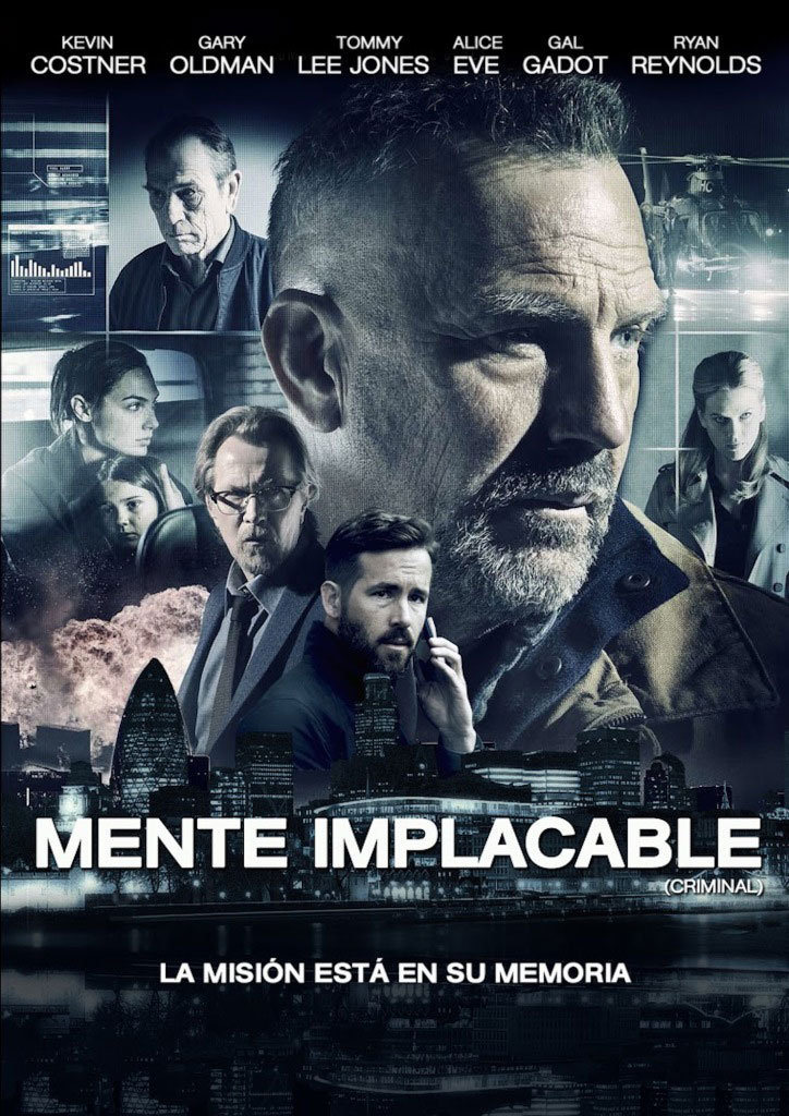Mente implacable (2016) HD 1080p Latino