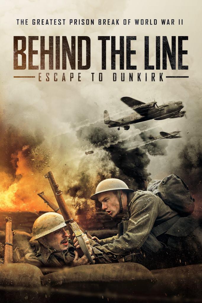 Detrás de la Línea: Escape de Dunkirk (2020) HD 1080p Latino