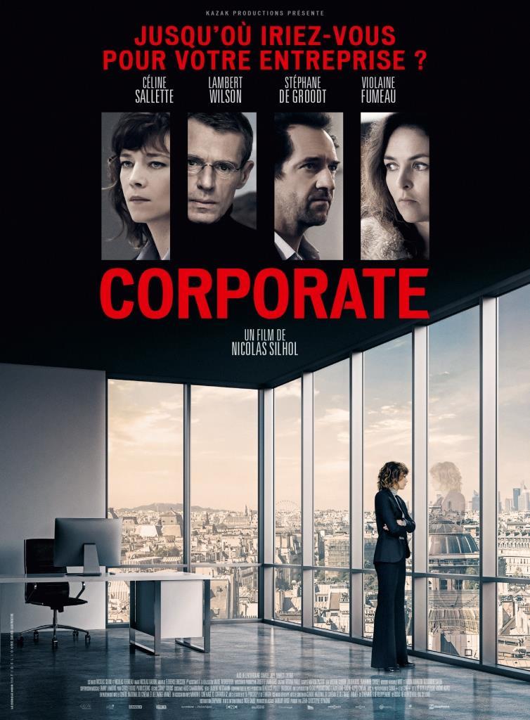 Corporate (2017) HD 1080p Latino