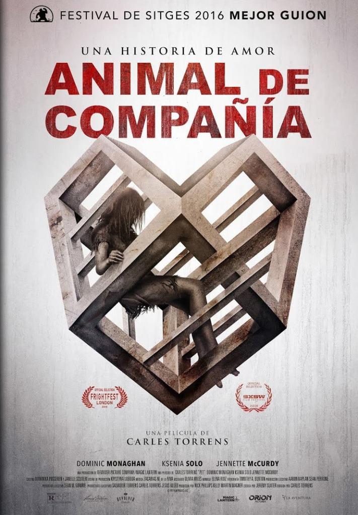 Animal de compañía (2016) HD 1080p Latino