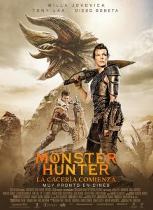 Monster Hunter: la cacería comienza (2020) HD 1080p Latino