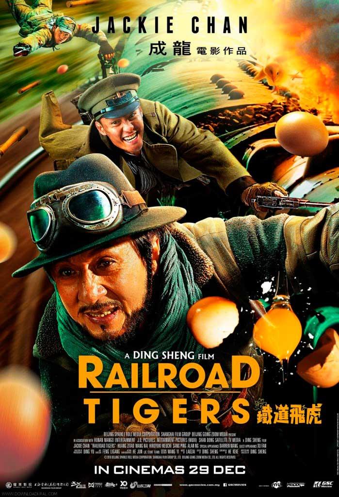 Los tigres del tren (2016) HD 1080p Latino
