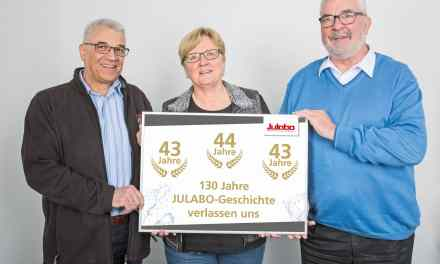 Julabo says goodbye to longtime employees