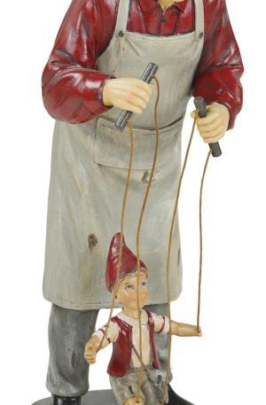 Geppetto con Pinocchio