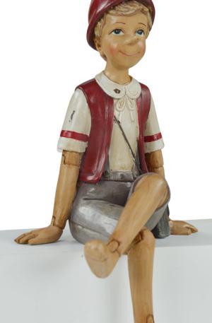 Modellino Pinocchio seduto
