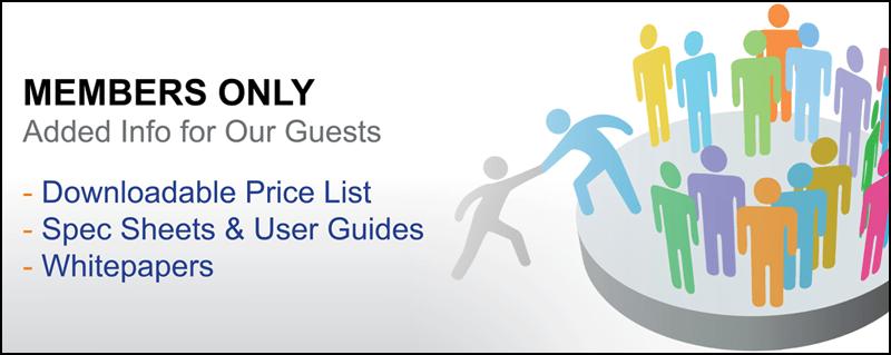Downloads-Price List-Spec Sheets