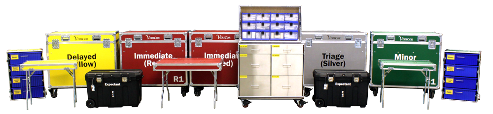 Triage and Treatment Compact Mobile Medical System