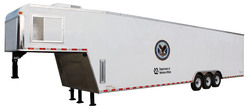 Custom Triple Axle Trailer - Response Trailers