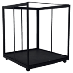 Rolling Rack for 6 Bariatric Beds (RR-6B)