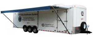 Bumper Pull Triple with Awning - Response Trailers