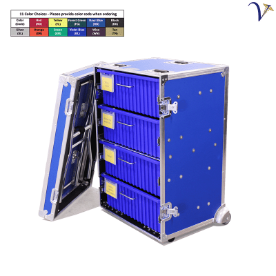 Medical Organizer with 4 Drawers and Table (MC-MO)