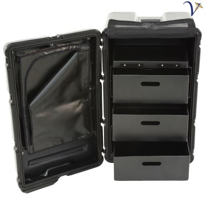 3 Drawer Mobile Medical Case (MC-3D)