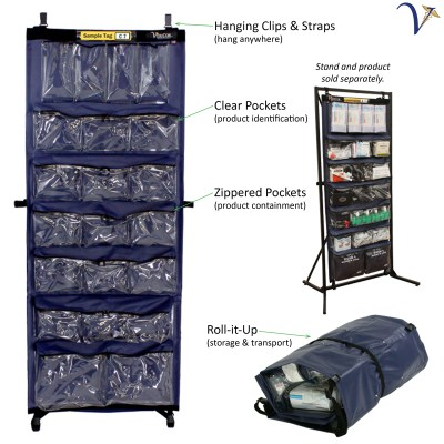 Upright Medical Organizer MC-UMO - Medical Roll Pack