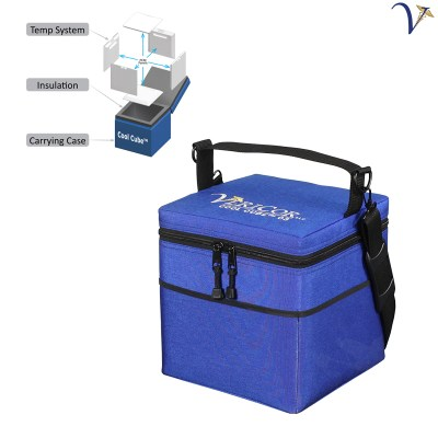 Cool Cube™ 03 Medical Transport Cooler at Frozen Temperatures 050918