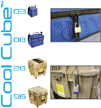 Lockable cold chain protection!