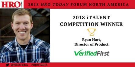 HRO Today 2018 iTalent Competition Winner