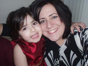 Me and Gianna Xmas 08