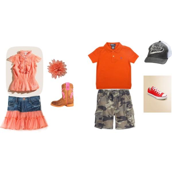 Kids in Tangerine