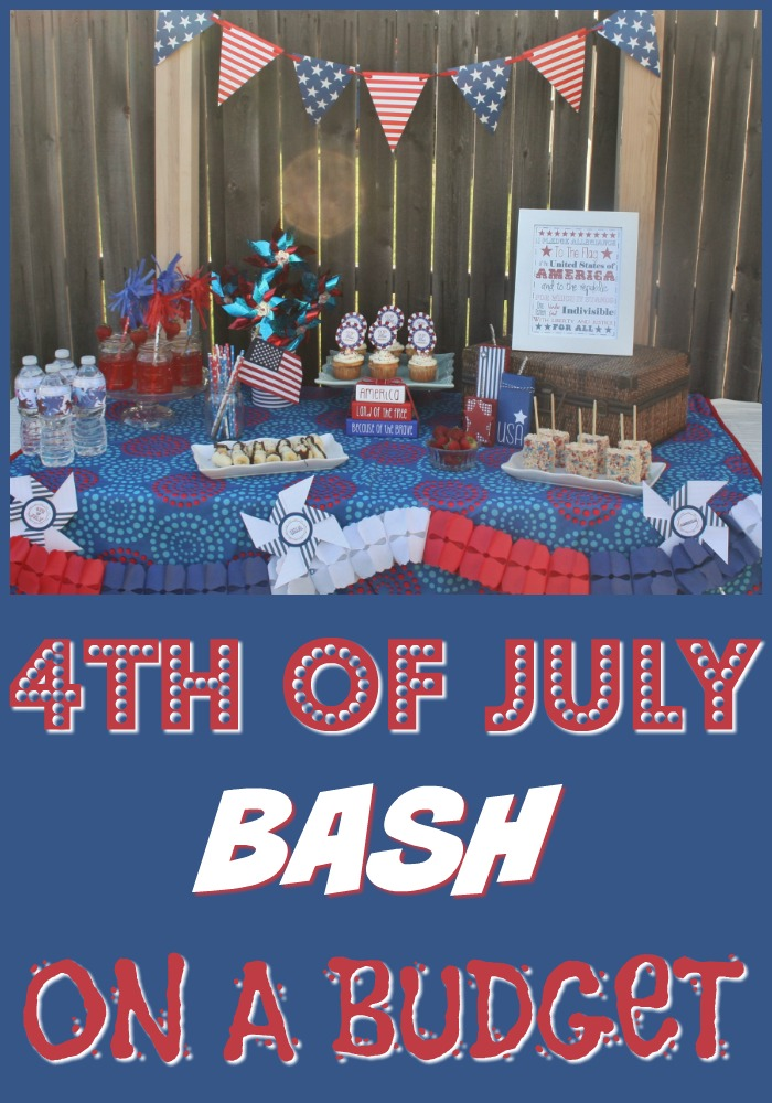 Plan a Fourth of July Bash on a Budget!