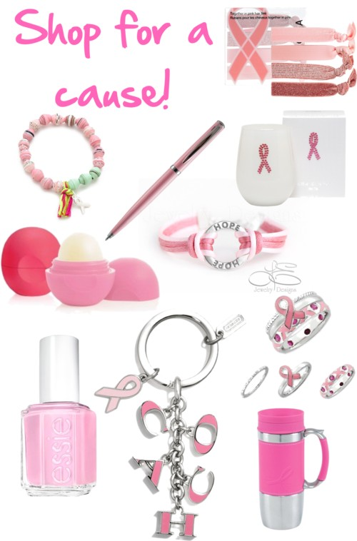 Shop for a cause - Breast Cancer Awareness
