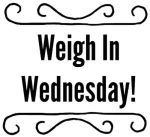 Weekly Weigh in @WeightWatchers