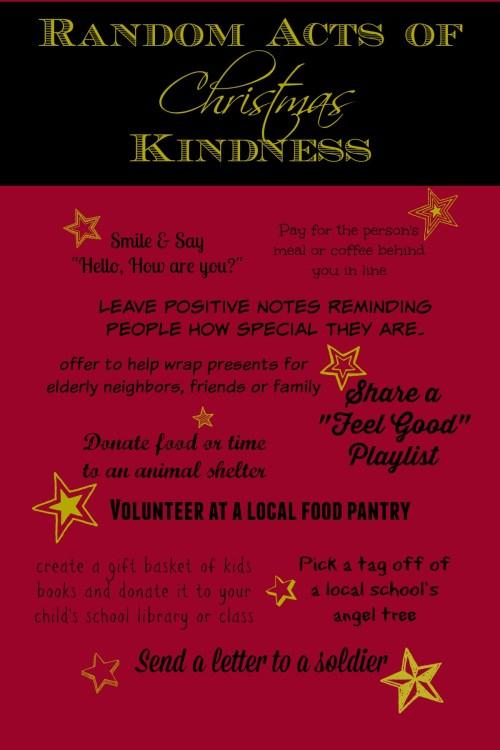 Random Acts of Christmas Kindness #MerryBlogMas