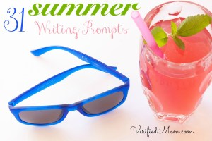 Writing Prompts for Summer Fun