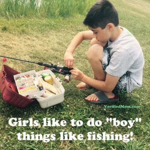 Tomboy Fishing
