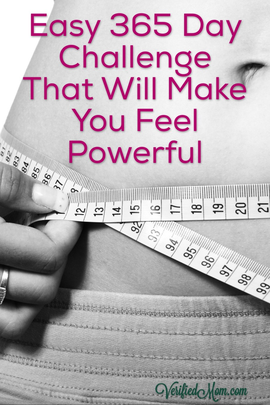 Easy 365 Day Challenge That Will Make You Feel Powerful -Pin