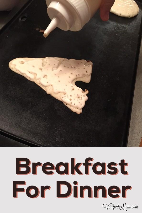 Family Fun Breakfast Dinner Pancake Art
