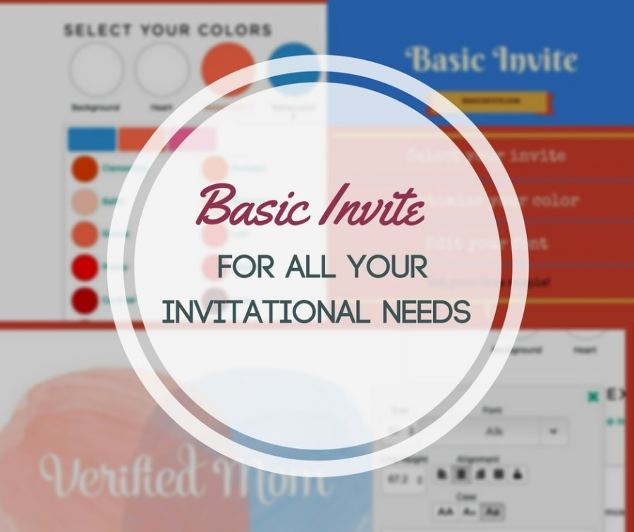 Basic Invite - For All your Invitational Needs!