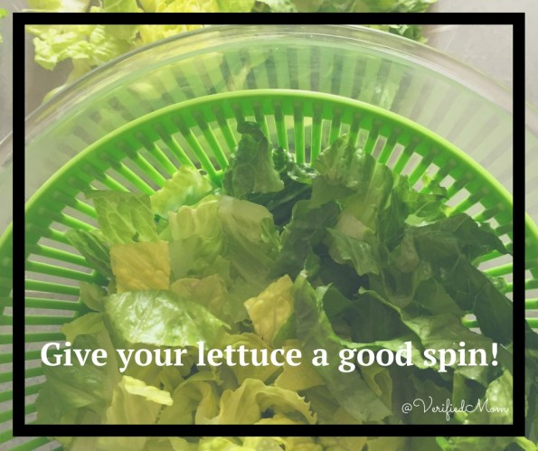 Give Your Salad A Good Spin in the Cuisinart Salad Spinner