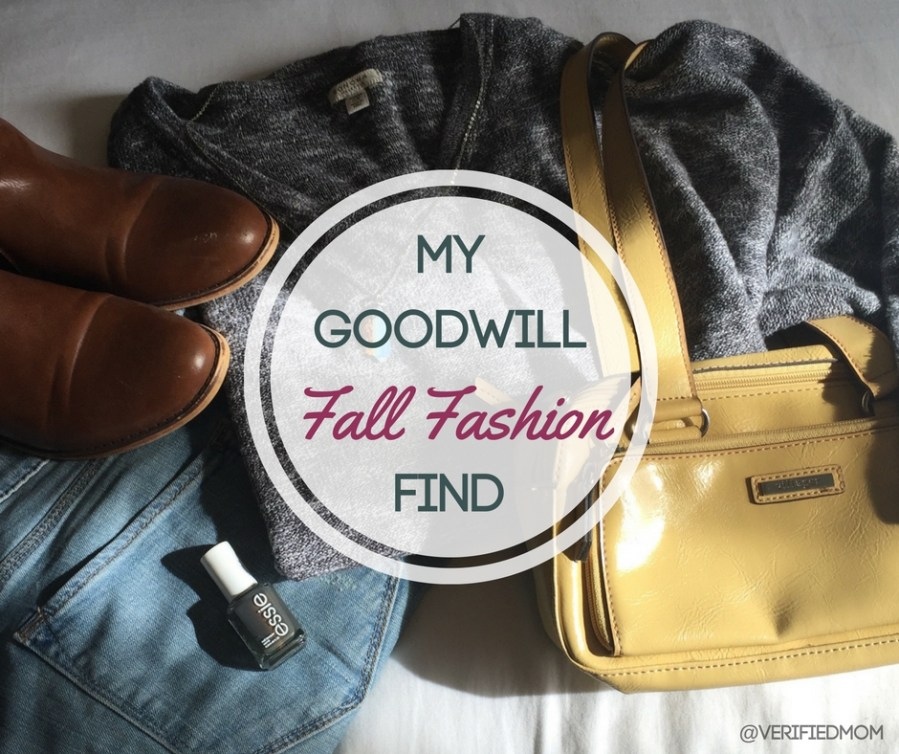 Shopping for Fall Fashion at Goodwill