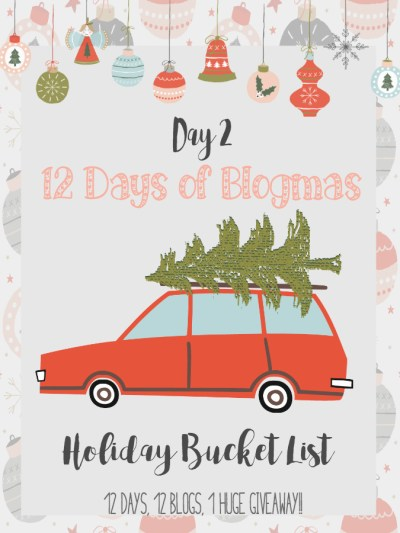 Holiday Bucket List Ideas You Will Love!
