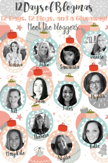 Meet the bloggers of 12 Days of Blogmas