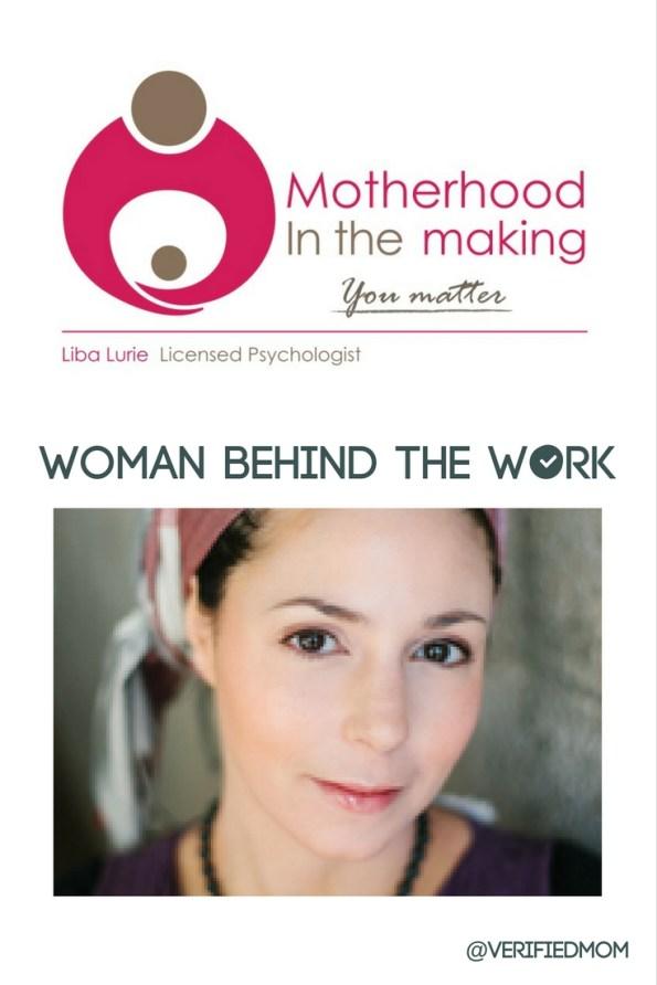 Liba Lurie is the @VerifiedMom - Woman Behind The Work - Interview Series Week 1