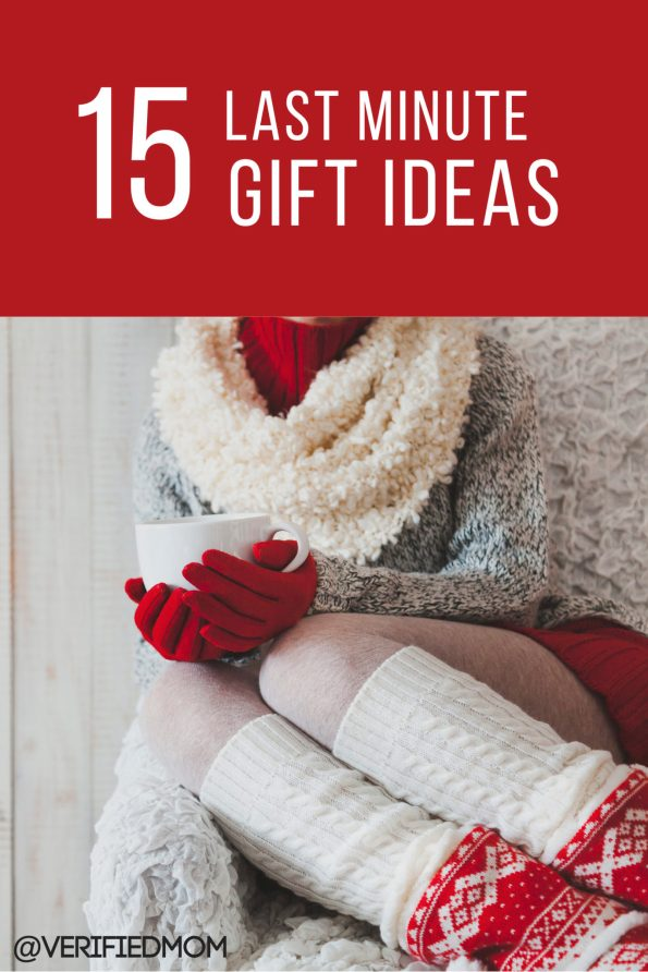 15 Last Minute Gifts
