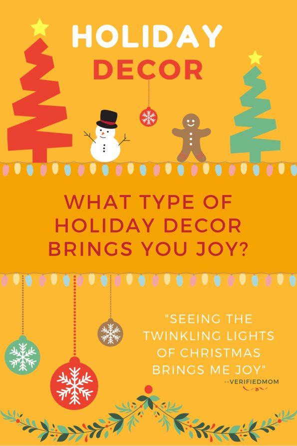 Christmas Decorations bring me joy!