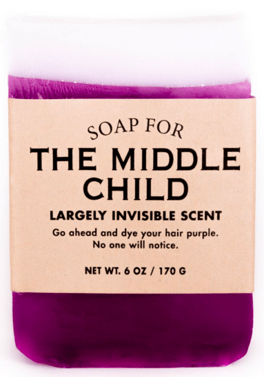 Soap for the middle child