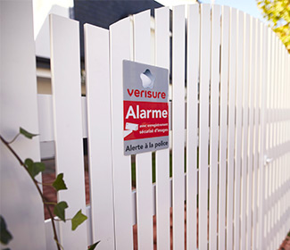 Autocollant Alarme Sticker Dissuasif Maison Sous Alarme Verisure