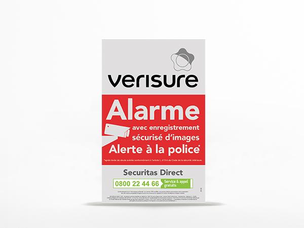 Panneau Alarme Bien Choisir Sa Plaque Dissuasive Maison Sous Alarme Verisure