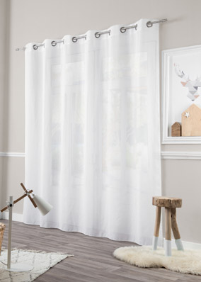 rideaux en pointe lin