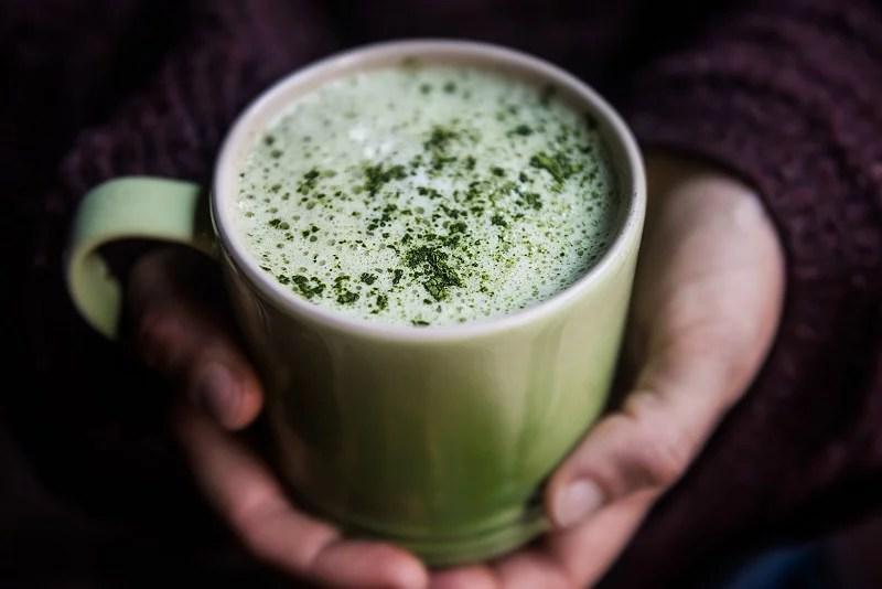 Matcha latte - Recetas - Veritas