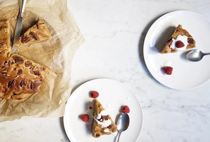 Pastel de manzana y yogur - Recetas - Veritas