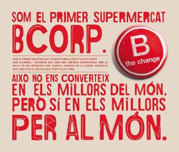 Som el primer supermercat B Corp - Veritas